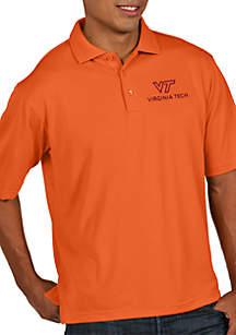 Virginia Tech Hokies Pique Xtra-lite Short Sleeve Polo