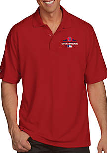 MLB 2018 World Series Champions Boston Red Sox Pique Polo Shirt