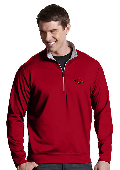 Antigua® Arkansas Razorbacks Leader Pullover