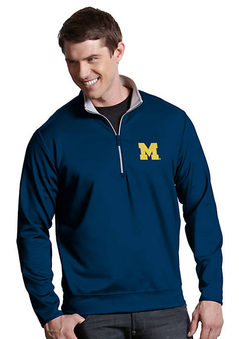 Antigua® Michigan Wolverines Leader Pullover
