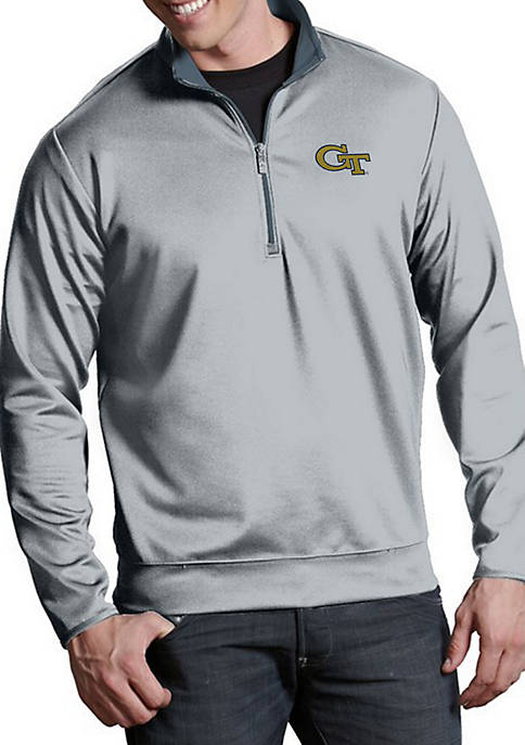 Antigua® Georgia Tech Yellow Jackets Leader Pullover