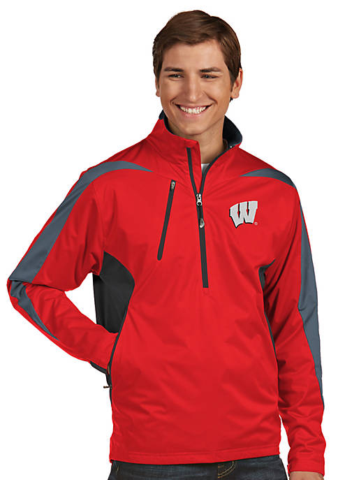 Antigua® Wisconsin Badgers Discover Jacket
