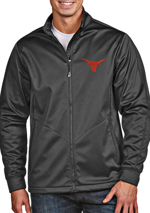 Mens NCAA Texas Longhorns Golf Jacket