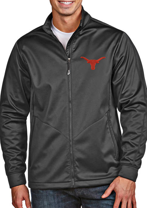 Antigua® Mens NCAA Texas Longhorns Golf Jacket
