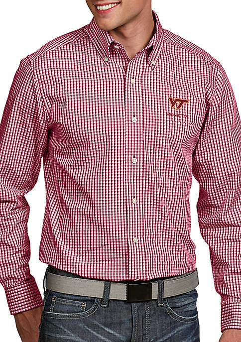 Antigua® Virginia Tech Hokies Associate Woven Shirt