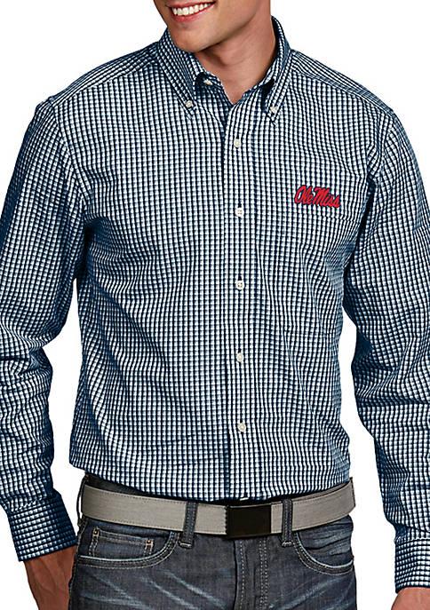 Antigua® Ole Miss Rebels Associate Woven Shirt