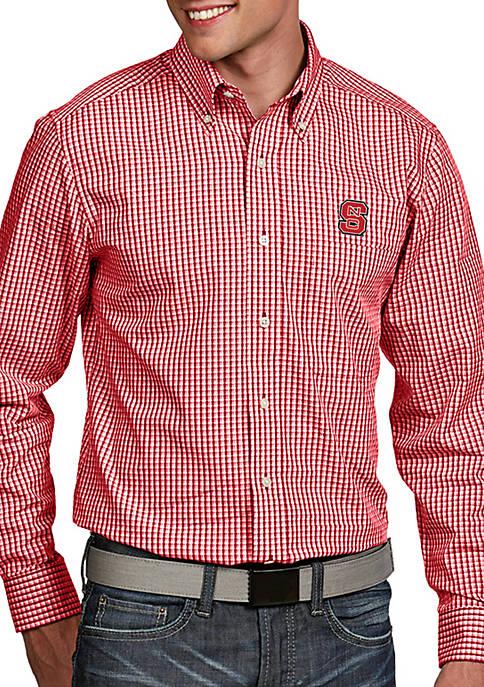 Antigua® NC State Wolfpack Associate Woven Shirt