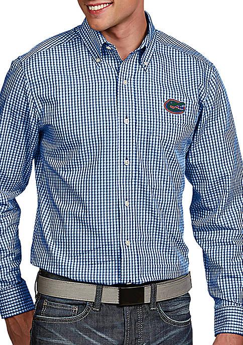 Antigua® Florida Gators Associate Woven Shirt