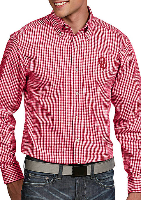 Antigua® Oklahoma Sooners Associate Woven Shirt