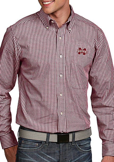 Antigua® Mississippi State Bulldogs Associate Woven Shirt