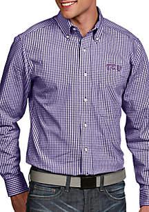 Texas Christian University Horned Frogs Associate Woven Shirt