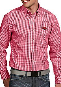 Antigua® Arkansas Razorbacks Associate Woven Shirt