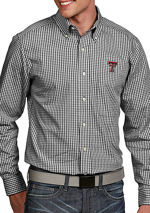 Antigua® Texas Tech Red Raiders Associate Woven Shirt