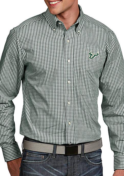 Antigua® South Florida Bulls Associate Woven Shirt