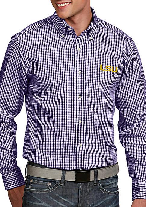 Antigua® LSU Tigers Associate Woven Shirt