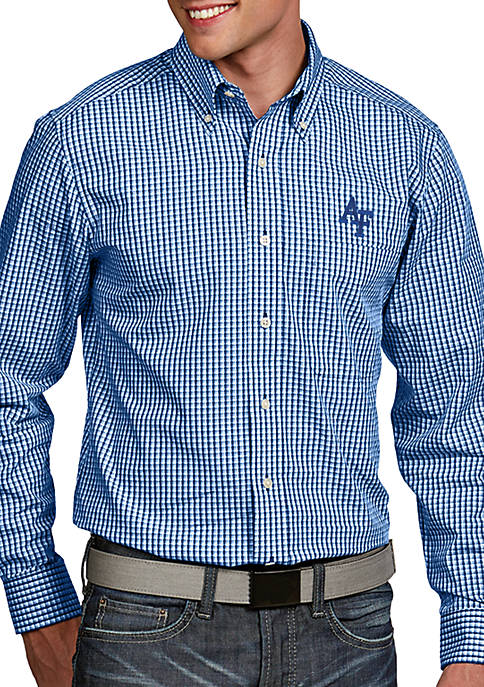 Antigua® Air Force Falcons Associate Woven Shirt