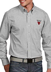 Antigua® Chicago Bulls Mens Associate Long Sleeve Woven Shirt