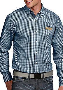 Denver Nuggets Mens Associate LS Woven Shirt