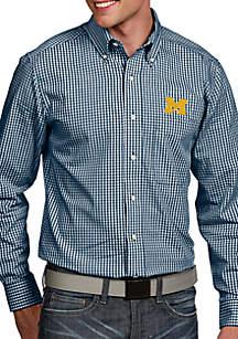 Michigan Wolverines Associate Woven Shirt