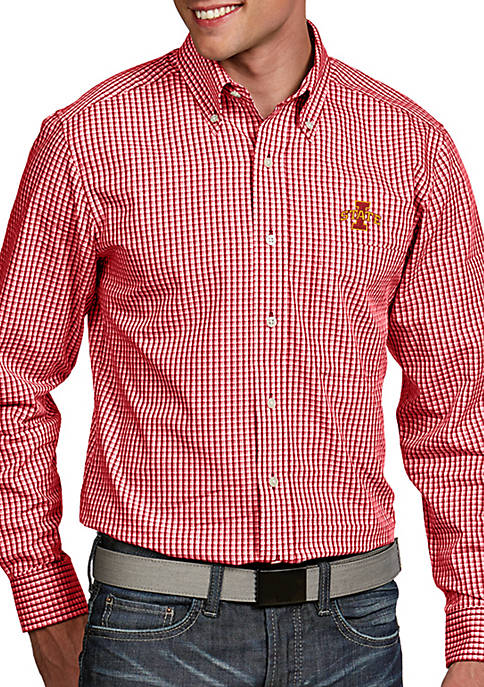 Antigua® Iowa State Cyclones Associate Woven Shirt