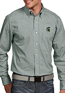 Antigua® Michigan State Spartans Associate Woven Shirt