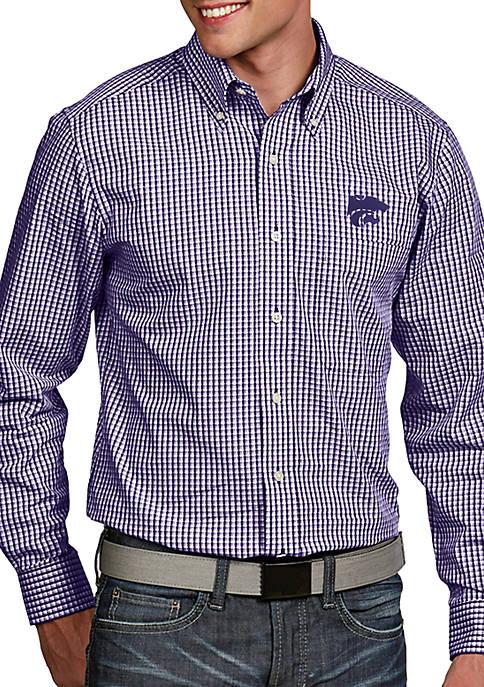 Antigua® Kansas State Wildcats Associate Woven Shirt