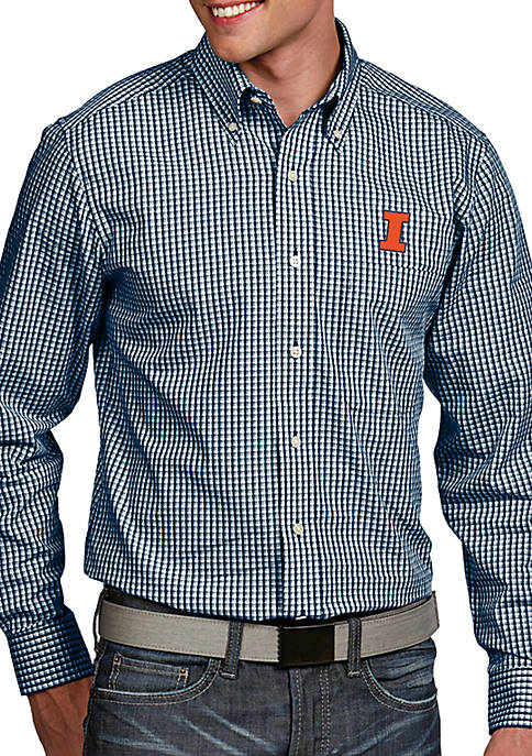 Antigua® Illinois Fighting Illini Associate Woven Shirt