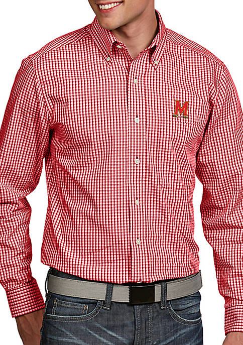 Antigua® Maryland Terrapins Associate Woven Shirt