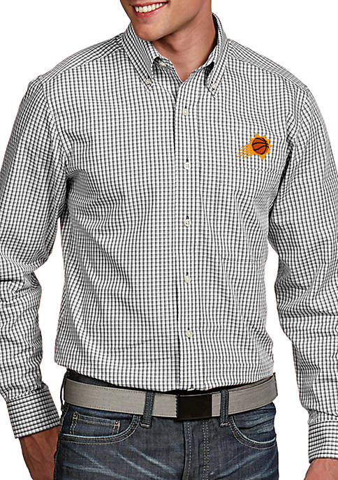 Antigua® Phoenix Suns Mens Associate LS Woven Shirt
