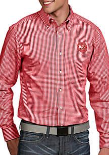 Antigua® Atlanta Hawks Mens Associate LS Woven Shirt