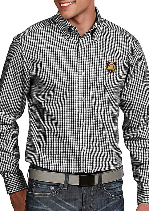 Antigua® Army Black Knights Associate Woven Shirt
