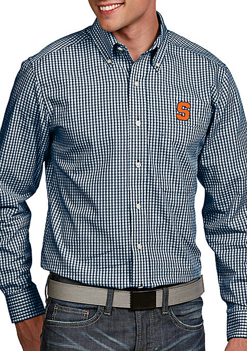 Antigua® Syracuse Orange Associate Woven Shirt