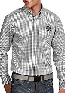 Antigua® Sacramento Kings Mens Associate LS Woven Shirt