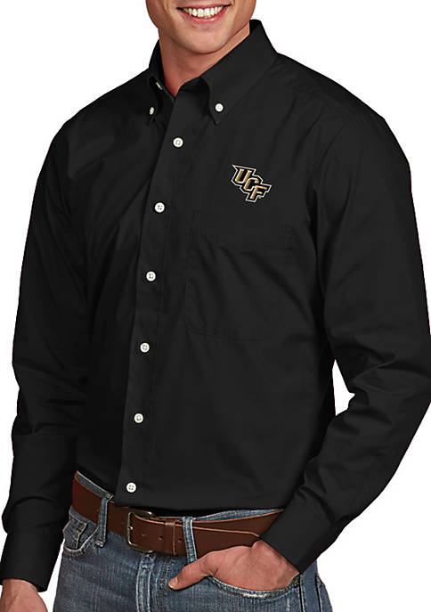 Antigua® Central Florida Golden Knights Dynasty Woven Shirt