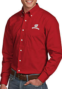 Wisconsin Badgers Dynasty Woven Shirt