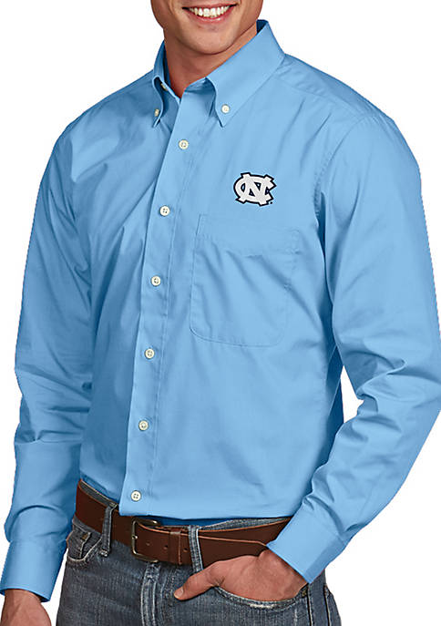 Antigua® UNC Tar Heels Dynasty Woven Shirt