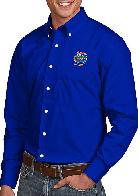 Antigua® Florida Gators Dynasty Woven Shirt