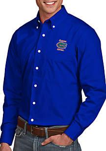 Antigua® Florida Gators Dynasty Woven Shirt