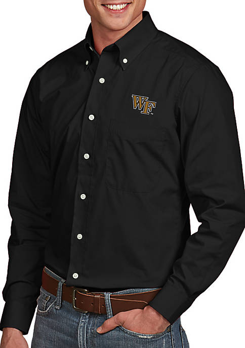 Antigua® Wake Forest Demon Deacons Dynasty Woven Shirt