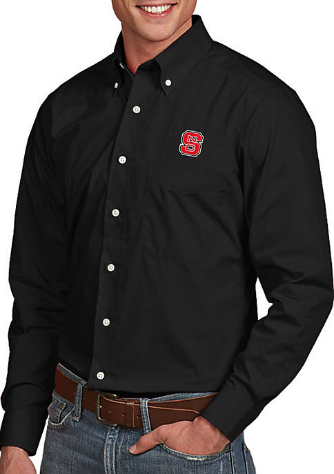 Antigua® NC State Wolfpack Dynasty Woven Shirt
