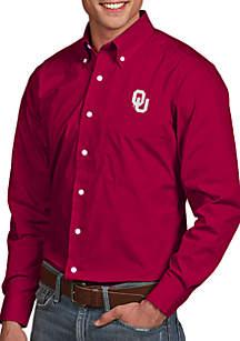 Oklahoma Sooners Dynasty Woven Shirt