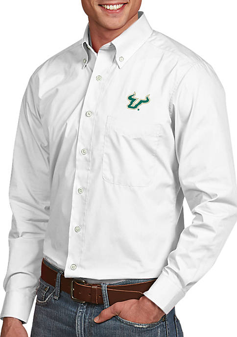 Antigua® South Florida Bulls Dynasty Woven Shirt