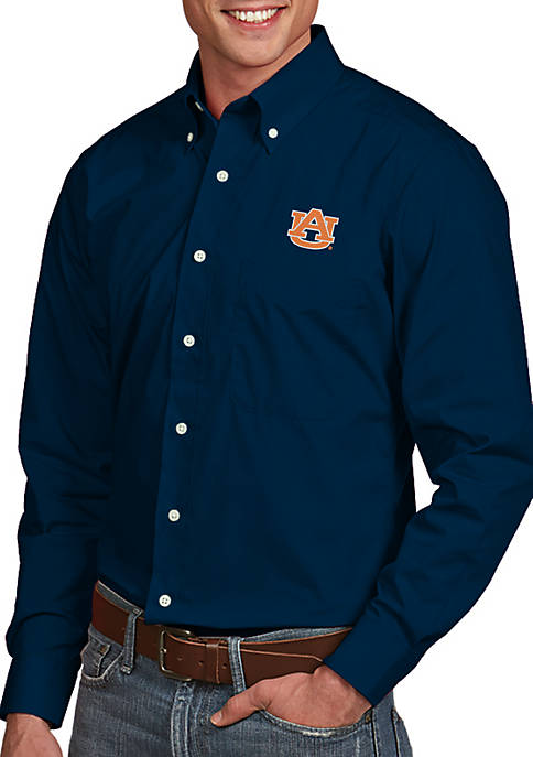 Antigua® Auburn Tigers Dynasty Woven Shirt