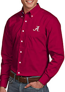 Alabama Crimson Tide Dynasty Woven Shirt