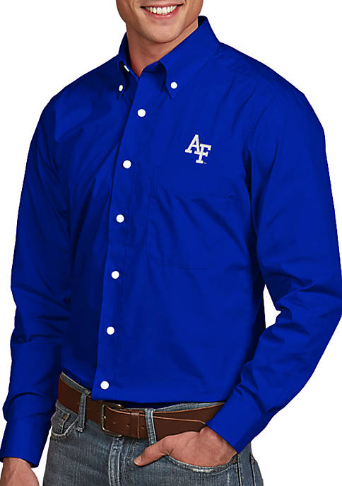 Antigua® Air Force Falcons Dynasty Woven Shirt