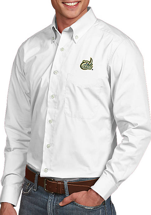 Antigua® Charlotte 49ers Dynasty Woven Shirt