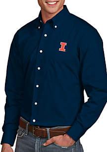 Antigua® Illinois Fighting Illini Dynasty Woven Shirt
