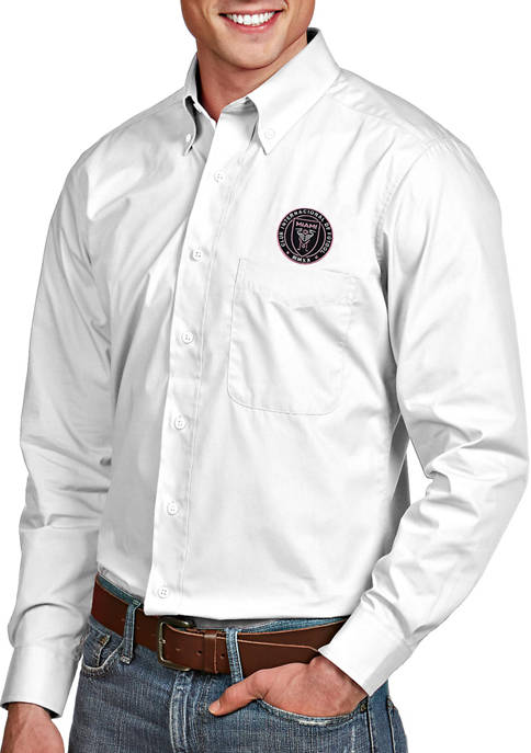 Mens MLS Inter Miami FC Dress Shirt