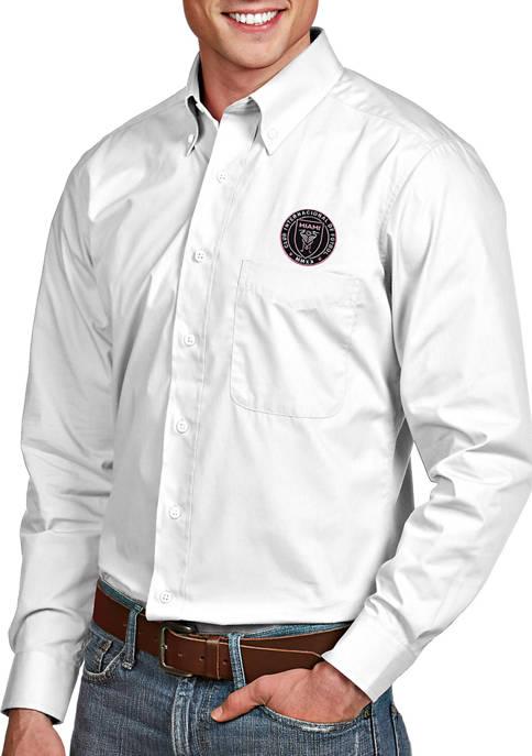 Antigua® Mens MLS Inter Miami FC Dress Shirt