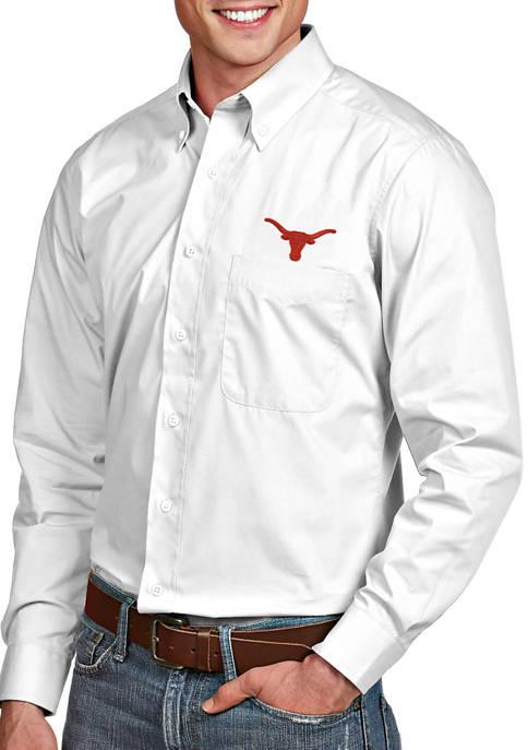 Antigua® Mens NCAA Texas Longhorns Dynasty Shirt